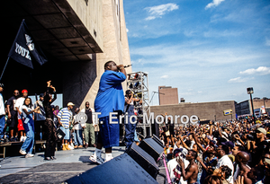 The Moment: Biggie at the Hoodshock Festival with the Bad Boy Family