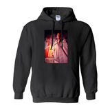 Nas Berlin Wall in NYC Hoodie (No-Zip/Pullover)