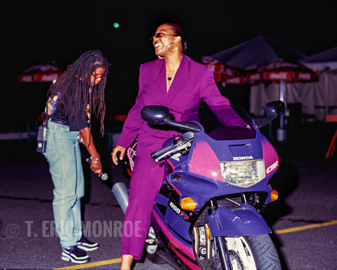 "Queen Latifah, ""Motorcycle Queen"""