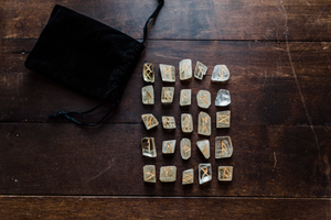 Yellow Calcite Rune Set