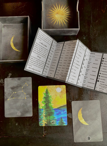 The Living Wheel Astrology Cards