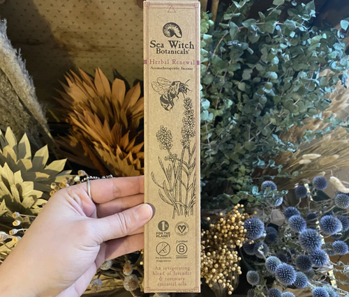 Sea Witch Herbal Renewal Incense