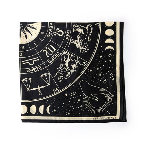 Signs of the Zodiac Astrology Bandana