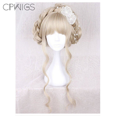 Lolita - Braided 3 - Blonde Wigs