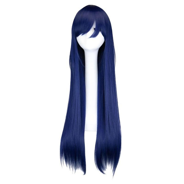 Fashion Wig - Straight 28 11 Colors Navy / 28Inches