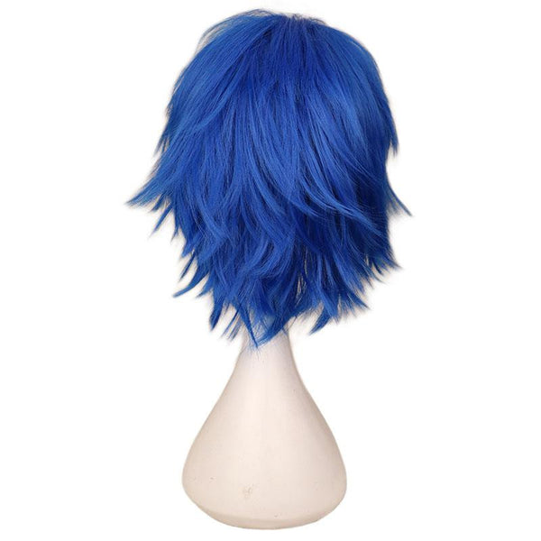 Boy Cut 1 - Blue Wigs