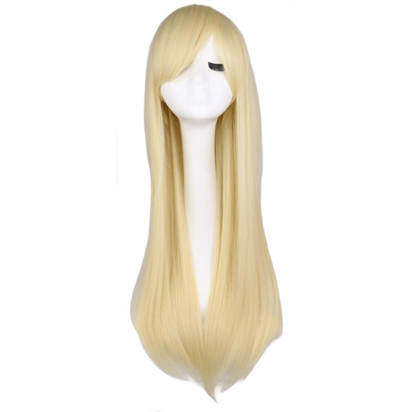 Fashion Wig - Straight 28 11 Colors Blonde / 28Inches