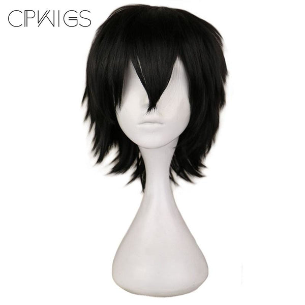 Boy Cut 1 - Black Wigs