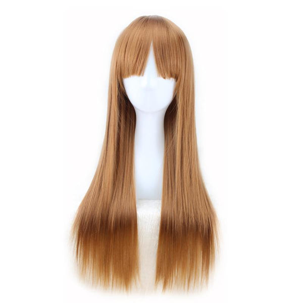 Fashion Wig - Straight 24 Brown Wigs #3 / 24Inches