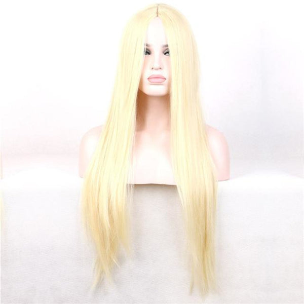 Fashion Wig - Straight 30 7 Colors Blonde / 30Inches