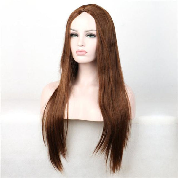 Fashion Wig - Straight 30 7 Colors Brown / 30Inches