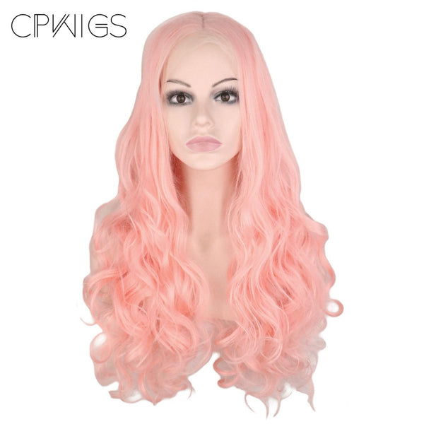 Lace Fronts - Body Wave 26 Pink Wigs
