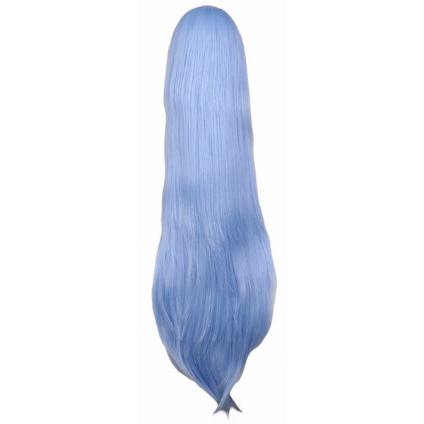 Classic - Straight 38 Blue Wigs