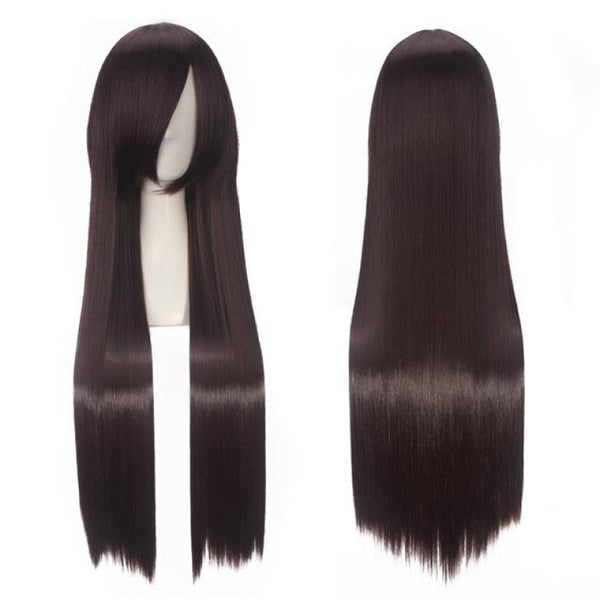 Fashion Wig - Straight 32 19 Colors T1B/613 / 32Inches