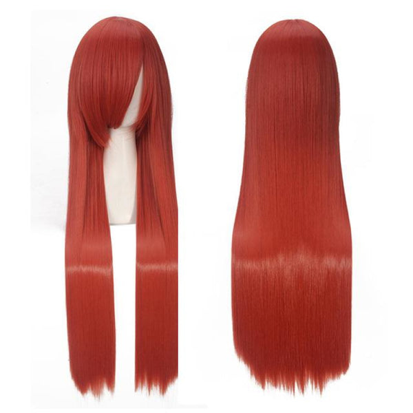 Fashion Wig - Straight 32 19 Colors 1B/30Hl / 32Inches