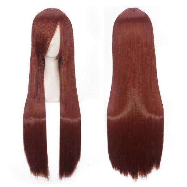 Fashion Wig - Straight 32 19 Colors P1B/27 / 32Inches
