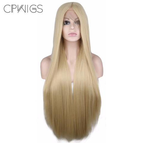 "Lace Fronts - Straight 26"" - Blonde Wigs"