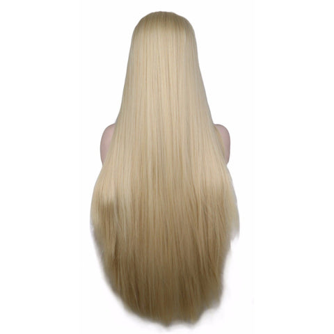 Lace Fronts - Straight 26 Blonde Wigs