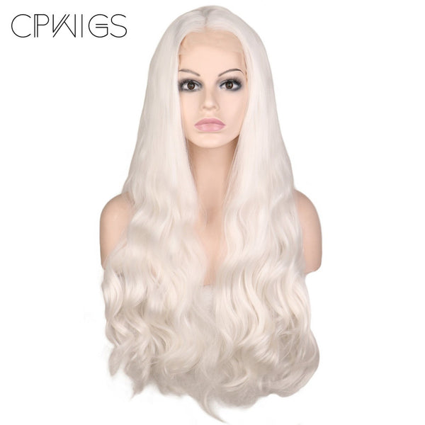 Lace Fronts - Body Wave 26 White Wigs
