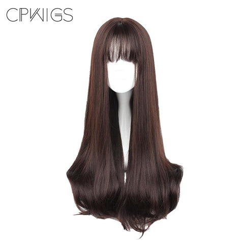 "Harajuku - Straight 30"" - Air Bang Wig 635Q"