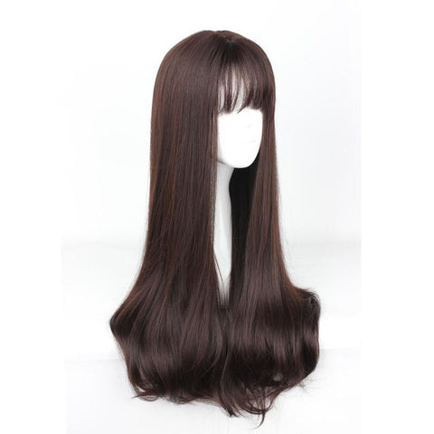 Air Bang - Straight 30 Harajuku Wig 635Q