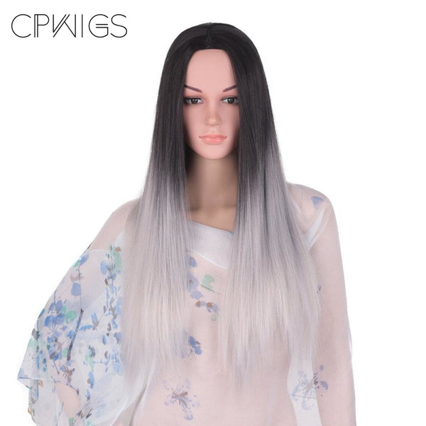 Straight 24 Inches - Synthetic Wigs
