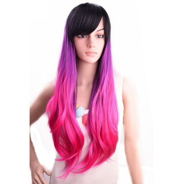 Straight 24 Inches - Synthetic Wigs 4/30Hl / 24Inches