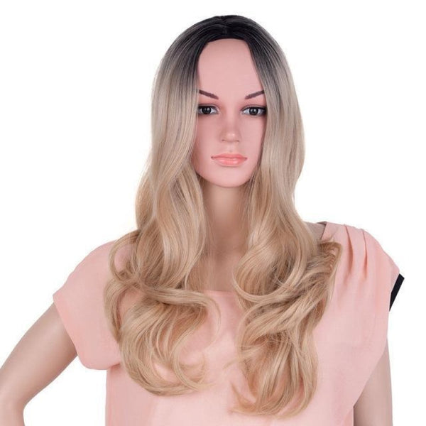 Straight 24 Inches - Synthetic Wigs P4/30 / 24Inches