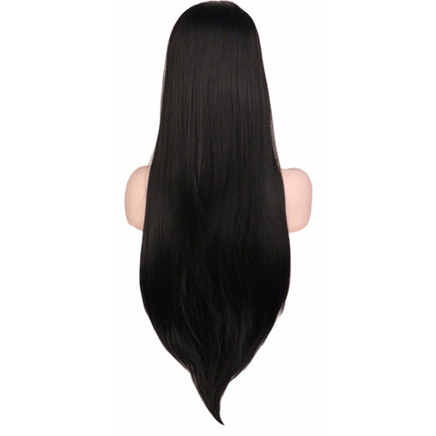 Lace Fronts - Straight 26 Black Wigs