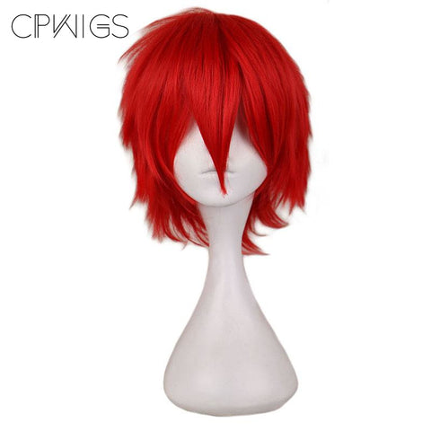 Boy Cut 1 - Red Wigs