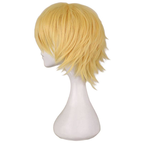 Boy Cut 1 - Yellow Wigs