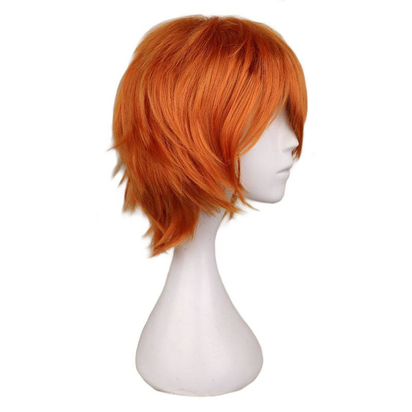 Boy Cut 1 - Orange Wigs