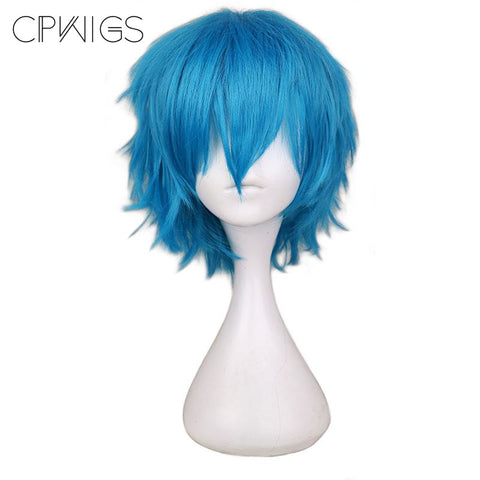 Boy Cut 1 - Lake Blue Wigs