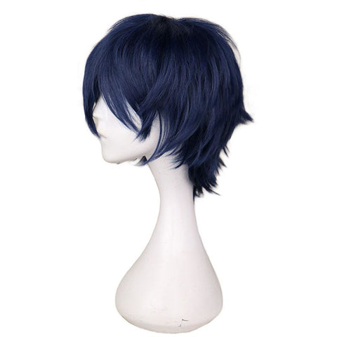 Boy Cut 1 - Navy Blue Wigs