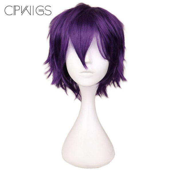 Boy Cut 1 - Purple Wigs