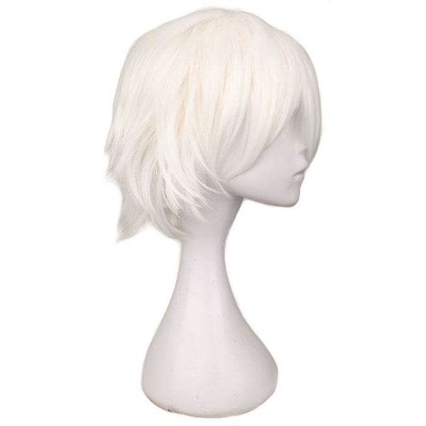Boy Cut 1 - White Wigs