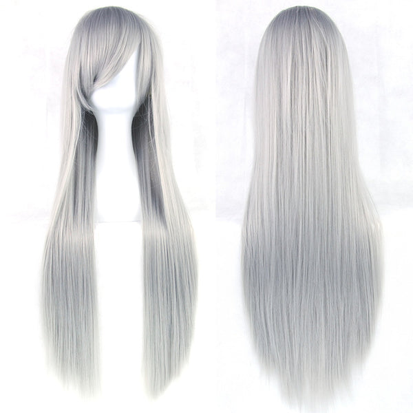 "Straight 32"" - 24 Colors - High Temperature Fiber Synthetic Hair"