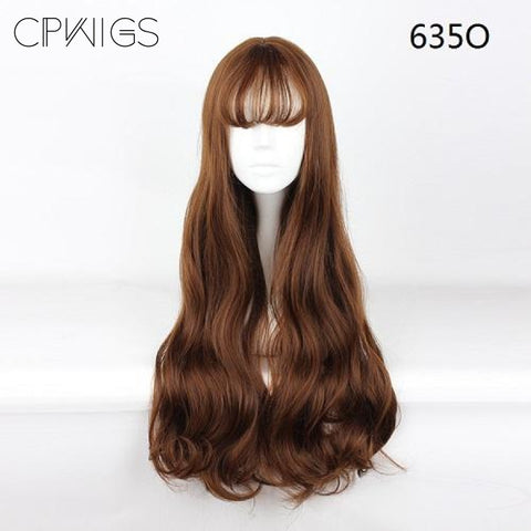 "Harajuku - Curly 30"" - Air Bang Wig 635O"