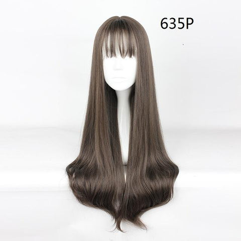 "Harajuku - Straight 30"" - Air Bang Wig 635P"