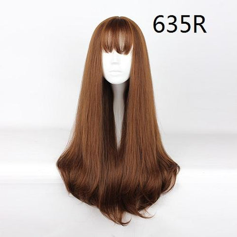 "Harajuku - Straight 30"" - Air Bang Wig 635R"