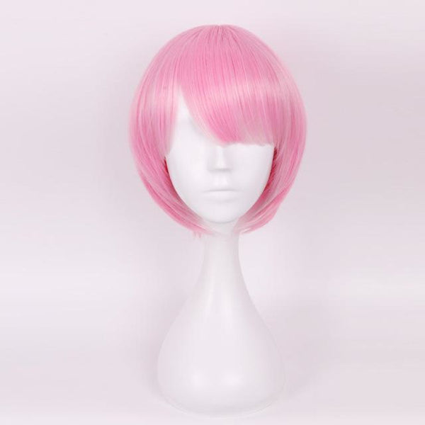 Character Cosplay - Re:zero Starting Life In Another World Ram & Rem Pink / 12Inches