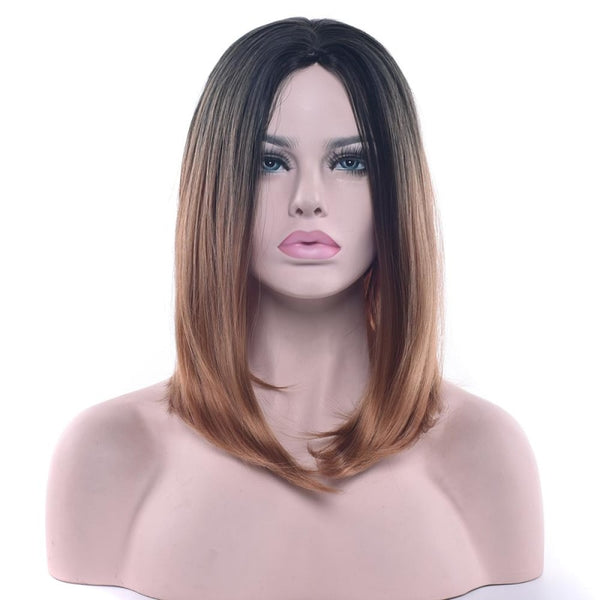 Bob Wigs - 16 11 Colors T1B/30 / 16Inches