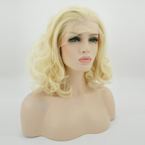 Lace Fronts - Curly 11 Blonde Wigs