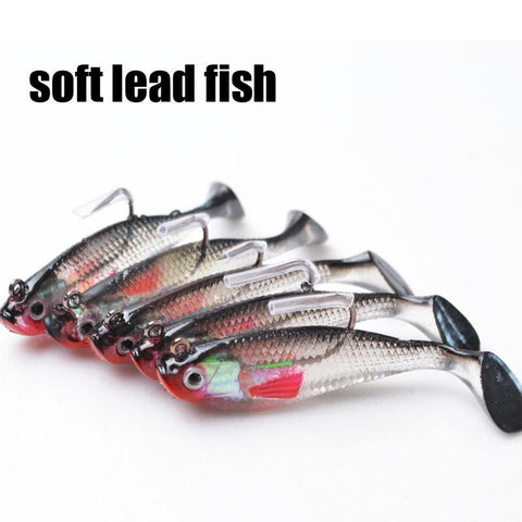5Pcs/Lot Lead Fishing Lures With Hook - Jigged Store