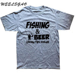 Fishing and Beer T-Shirt - Jigged Store