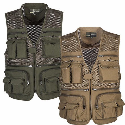Fishing Vest - Jigged Store