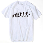 Evolution of Fisherman T-Shirt - Jigged Store
