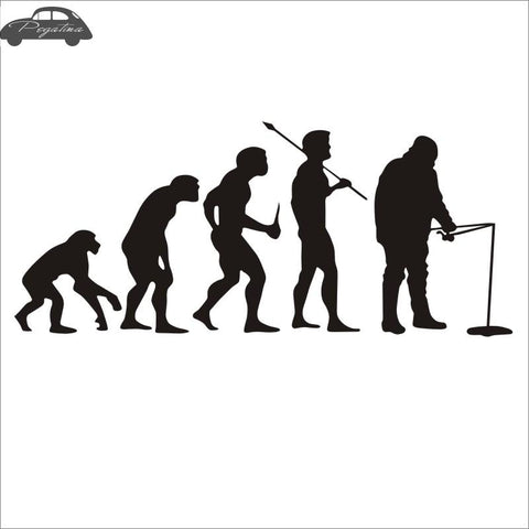Fisher Evolution Sticker - Jigged Store