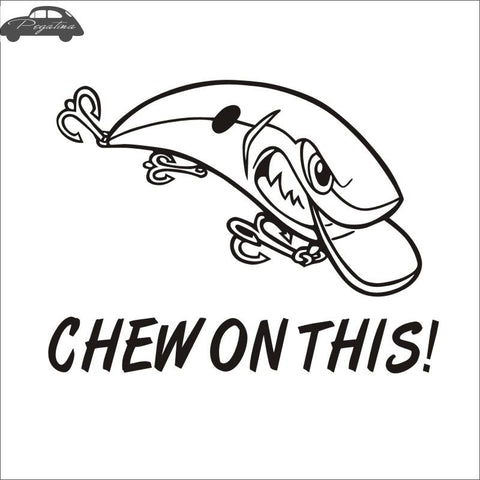 Chew On This! Sticker - Jigged Store