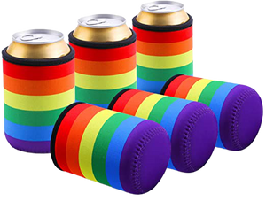 Rainbow Slim Can Sleeves (3pack)